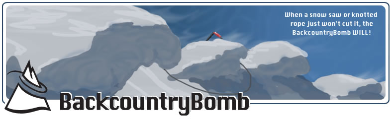 cornices and BackcountryBomb logo